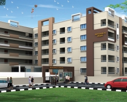 3 bhk flat for rent in sentinel's pride, thanisandra