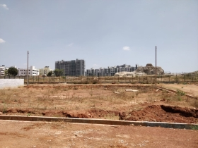 30X40 site for sale in arkavathy layout, hrbr layout, hennur