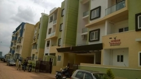 2 bhk flat for rent in venkatasai vs sunrise , Thanisandra,