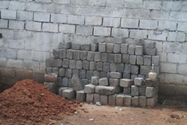 Compound walls of 40x60 site in thanisandra
